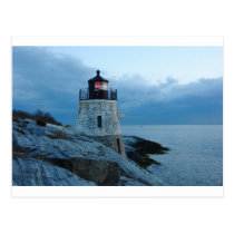 Castle Hill Lighthouse- Newport, RI card