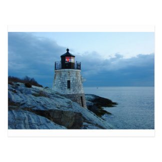 Castle Hill Lighthouse- Newport, RI card