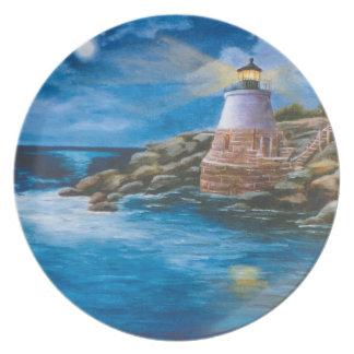Castle Hill Lighthouse Plate