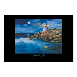 Castle Hill Lighthouse Poster/Print Poster