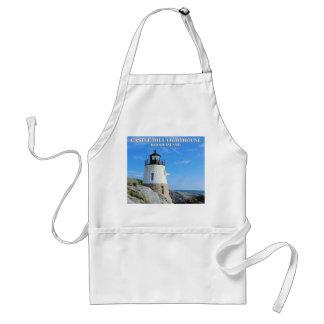 Castle Hill Lighthouse, Rhode Island Adult Apron