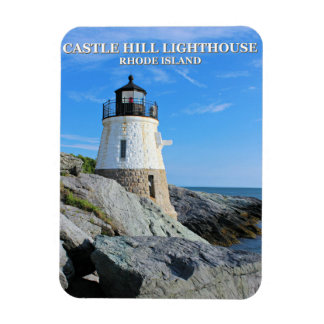 Castle Hill Lighthouse, Rhode Island Magnet