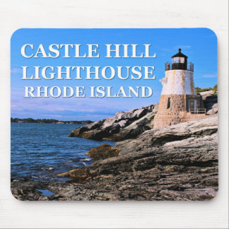 Castle Hill Lighthouse, Rhode Island Mousepad