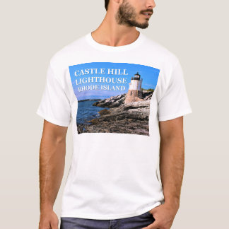 Castle Hill Lighthouse, Rhode Island T-Shirt
