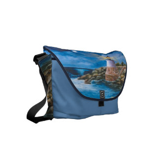 Castle Hill Lighthouse Small Messenger Bag