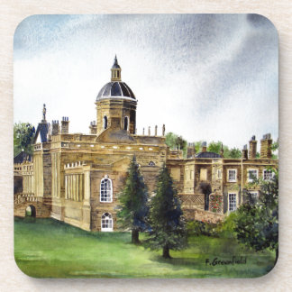 Castle Howard North Yorkshire Watercolor Painting Coaster