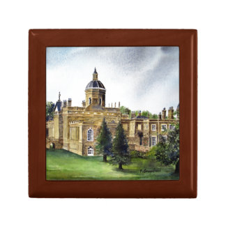 Castle Howard North Yorkshire Watercolor Painting Jewelry Box