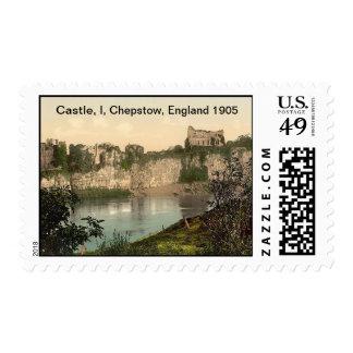 Castle, I, Chepstow, England 1905 Postage