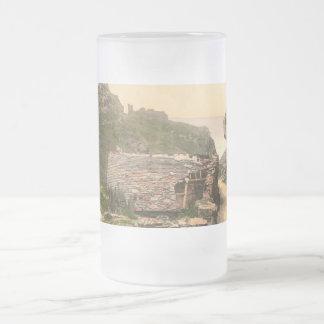 Castle I Tintagel Cornualles de rey Arturo Tazas De Café