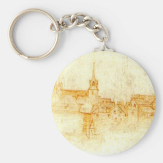 Castle in Amboise Keychain