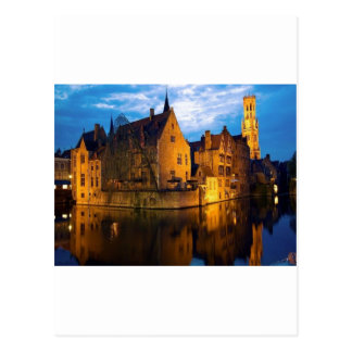 Castle in Belguim Postcard
