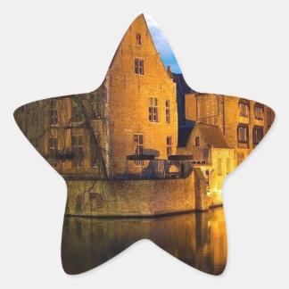 Castle in Belguim Star Sticker