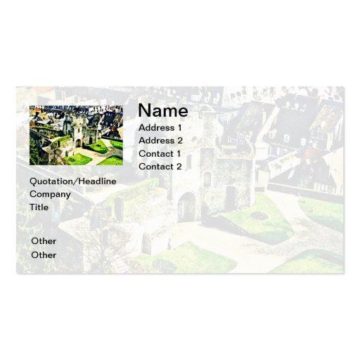 Castle in France near Paris Business Card