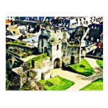 Castle in France near Paris Postcard