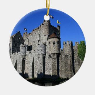 Castle in Gent Adornos De Navidad