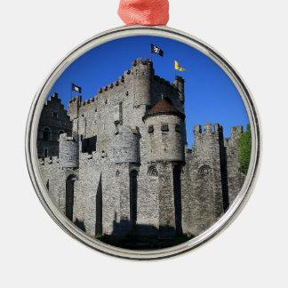 Castle in Gent Ornamento De Navidad