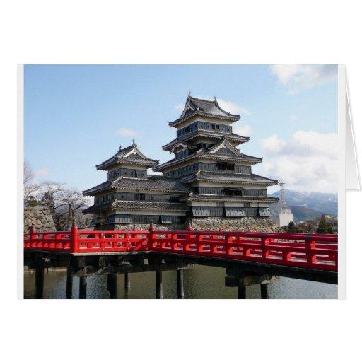 Castle in Japan Greeting Card