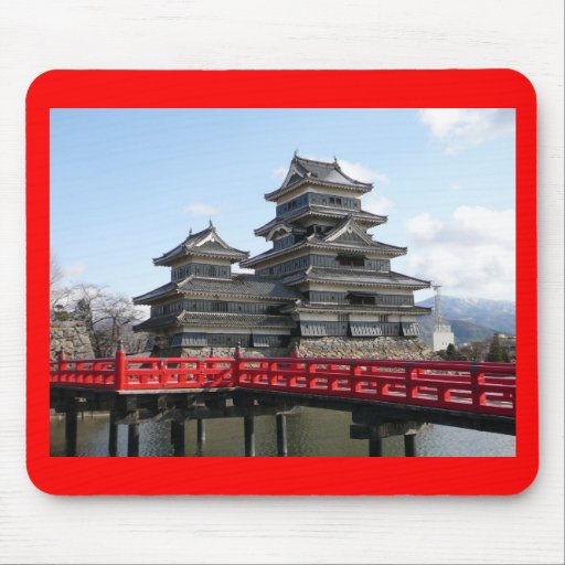Castle in Japan Mouse Pad