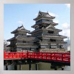 Castle in Japan Poster