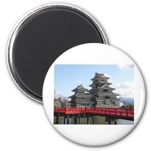 Castle in Japan Refrigerator Magnets