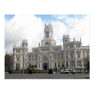 Castle in Madrid, Spain Postcard