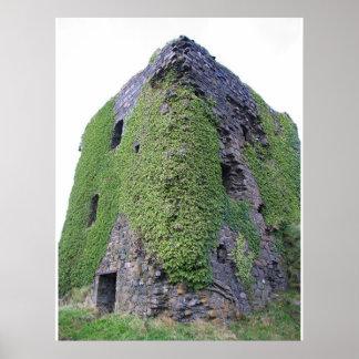 Castle in Oban Scotland Poster