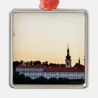 Castle in Prague Metal Ornament