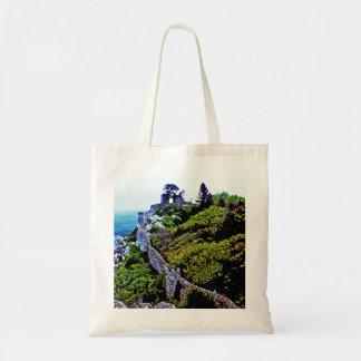 Castle in Sintra Portugal Tote Bag