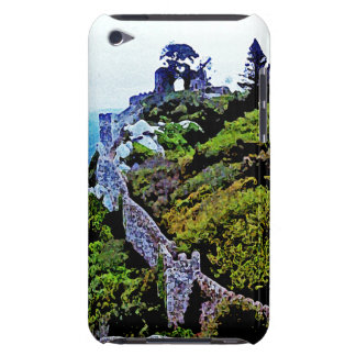Castle in Sintra Portugal Barely There iPod Cases