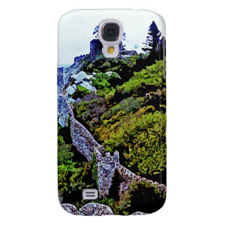 Castle in Sintra Portugal Galaxy S4 Cases