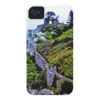 Castle in Sintra Portugal iPhone 4 Covers