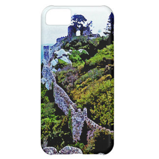 Castle in Sintra Portugal iPhone 5C Cases
