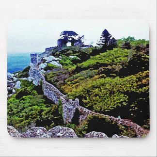 Castle in Sintra Portugal Mousepad