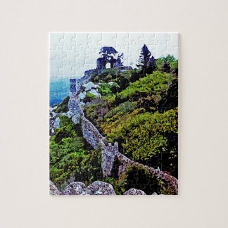 Castle in Sintra Portugal Jigsaw Puzzle