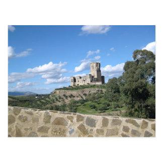 Castle in Spain Post Card