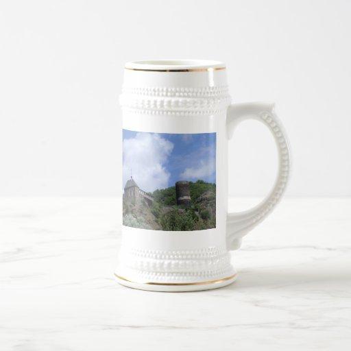Castle in the Cliffs Coffee Mugs