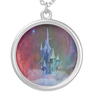 Castle in the clouds pendant
