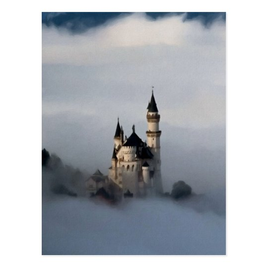 Castle in the Clouds Postcard