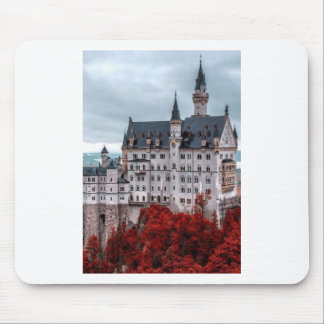 Castle in the Fall Mouse Pad
