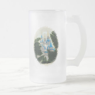 Castle In The Pines Frosted Glass Mug