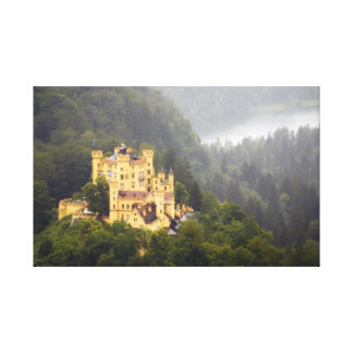 Castle In The Trees Gallery Wrap Canvas