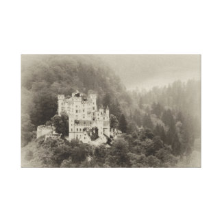 Castle In The Trees Canvas Prints