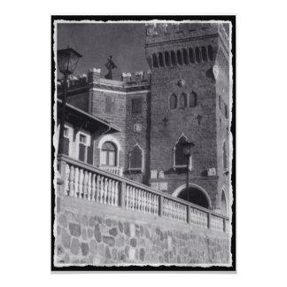 Castle In Trieste 5x7 Paper Invitation Card