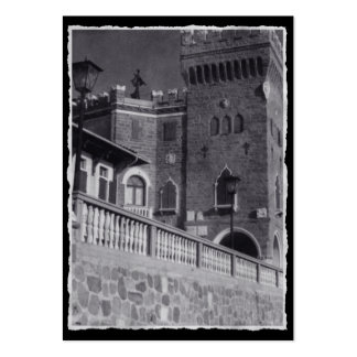Castle In Trieste Large Business Cards (Pack Of 100)