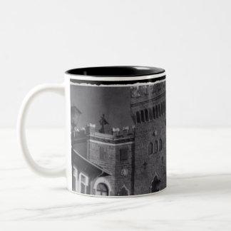 Castle In Trieste Two-Tone Coffee Mug