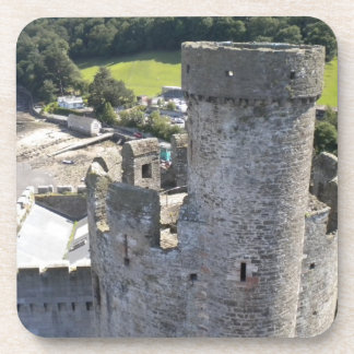 Castle in Wales Drink Coaster