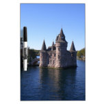 Castle in water dry erase whiteboards