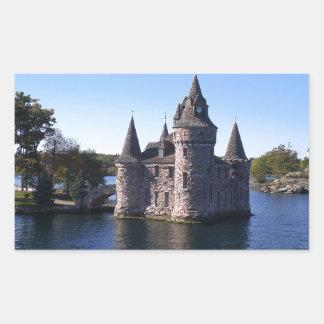 Castle in water sticker
