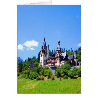 castle king residence peles beauty power peace card