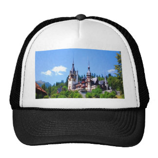 castle king residence peles beauty power peace trucker hat